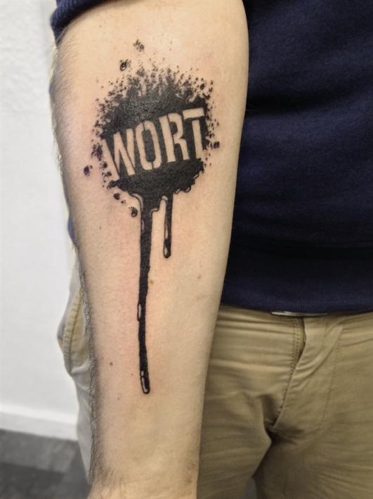 Wort Polar Ink Tattoo Studio Bremen